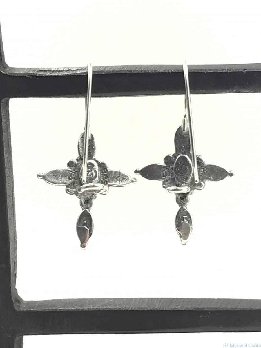 Premier design sterling silver cross earrings vintage for Premier jewelry cross ring