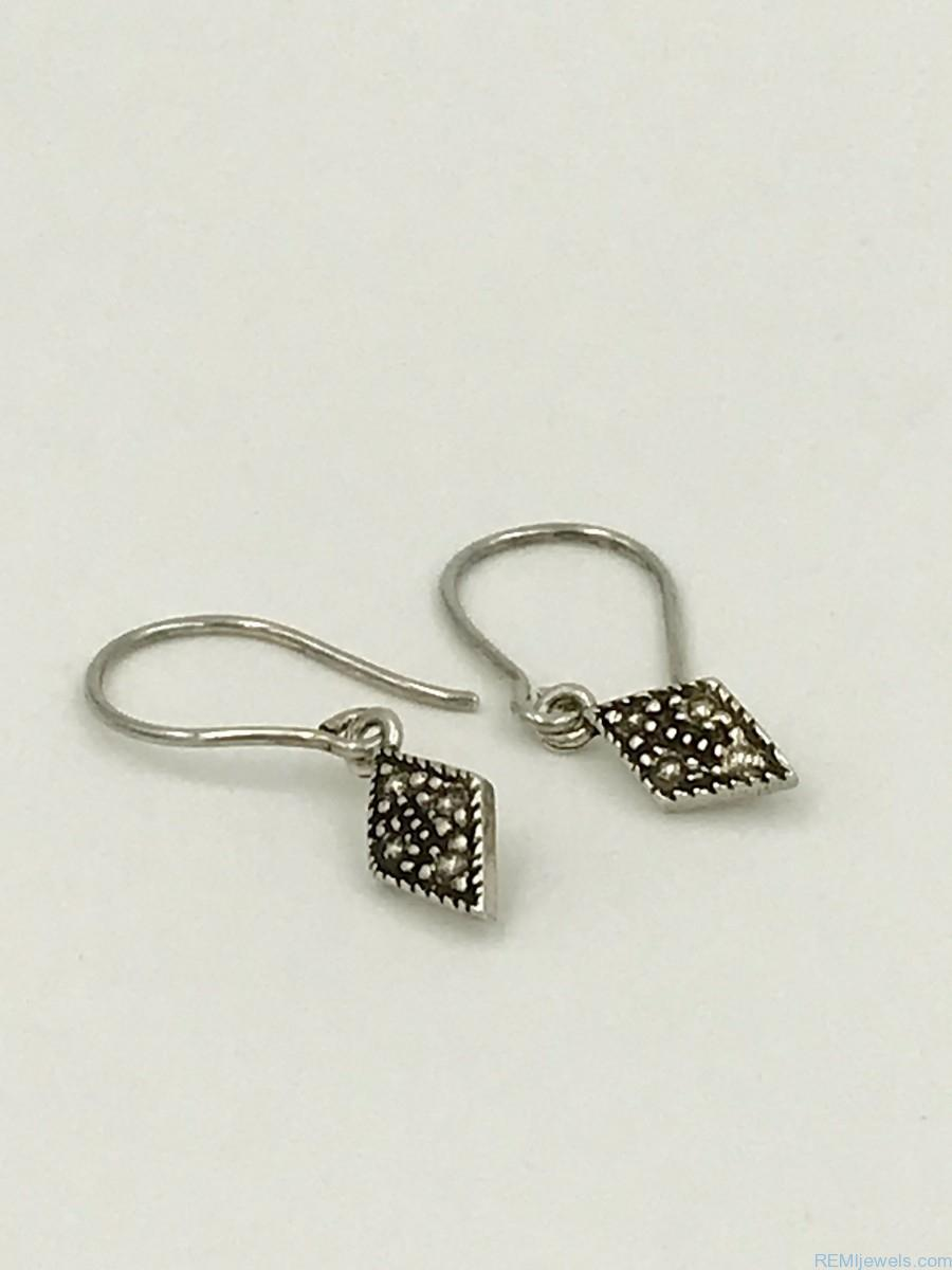 sterling shimmer stone s from novica peru shapeshop shop hematite earrings silver women womens overstock