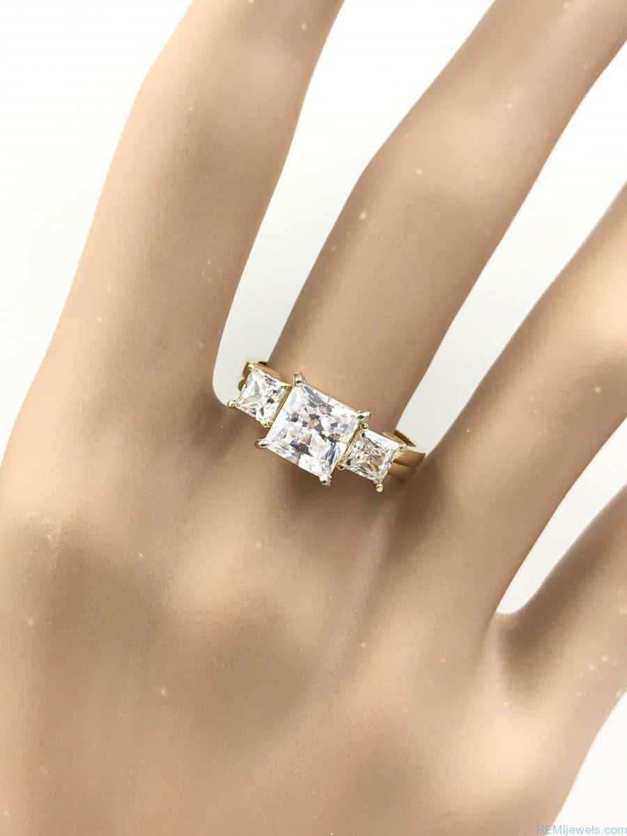 engagement moissanite wedding open gold matching art rose and deco bands gap ring band diamond set