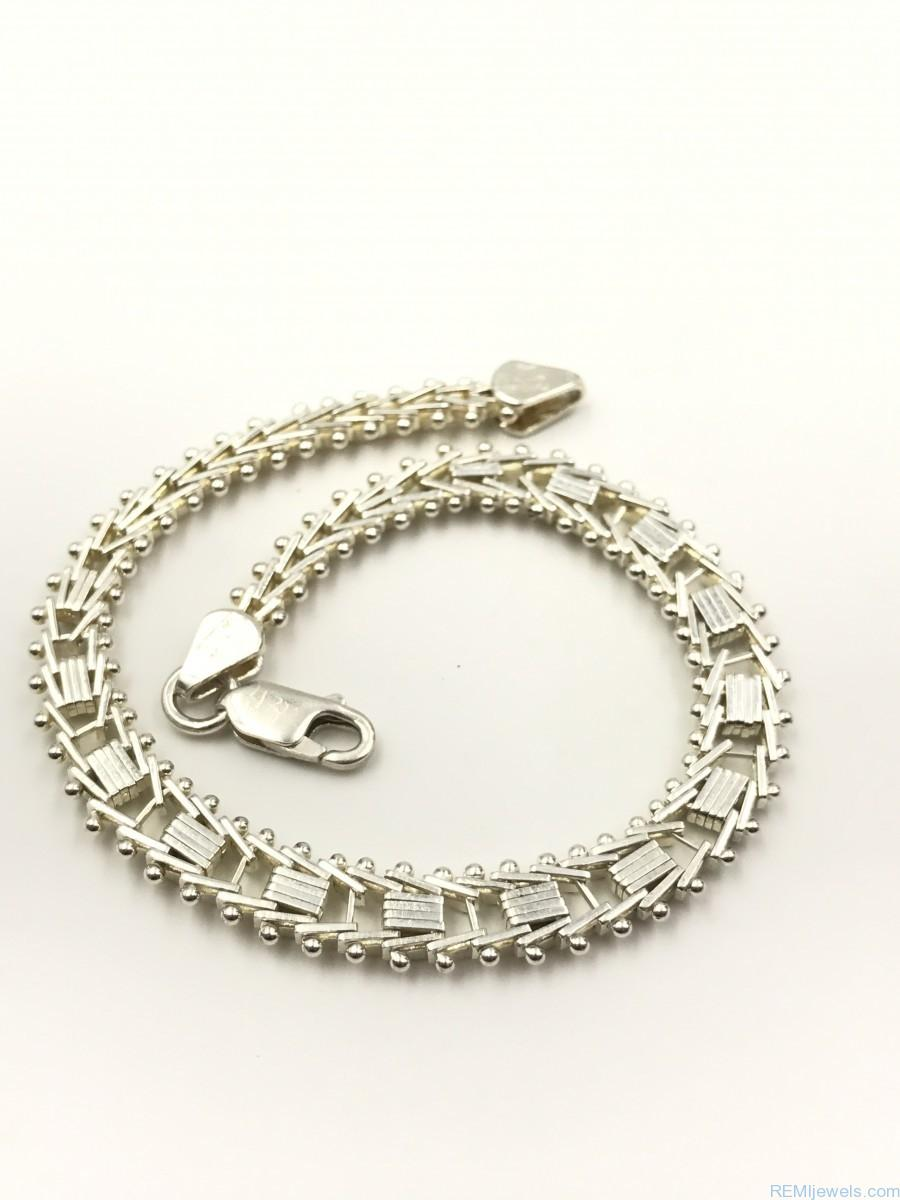 uk s men unique p silver designer mens the bracelet in