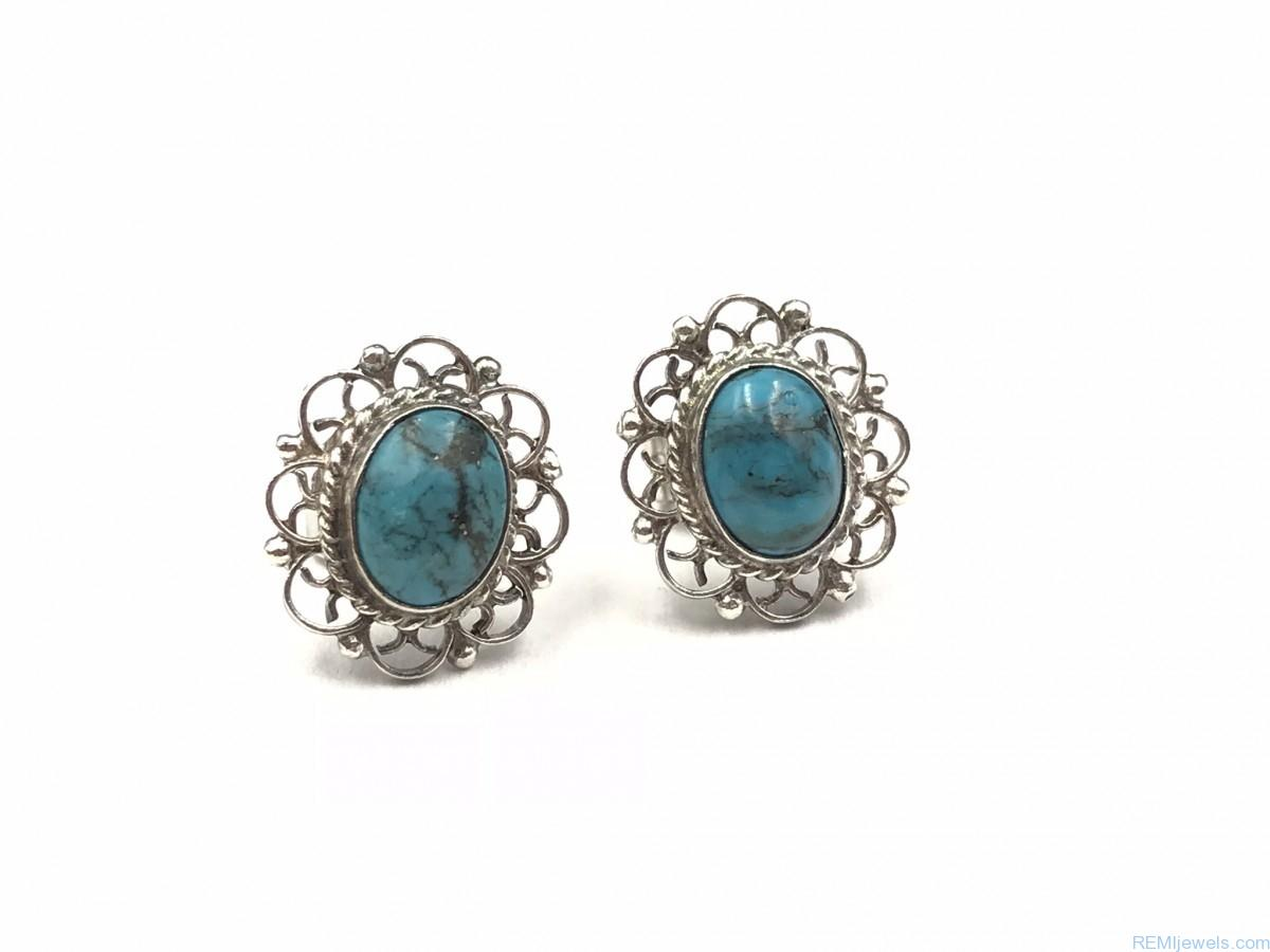 earrings ocean buy gemstone product bold blue stone adiva