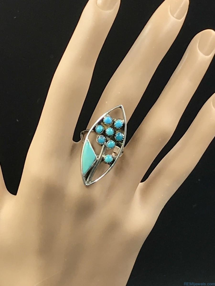 Wv Sterling Silver Ring