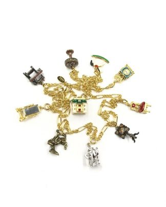 Joan Rivers Melissas Doll House 10 Charm 30 Necklace